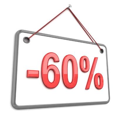 Discounts upto 60%